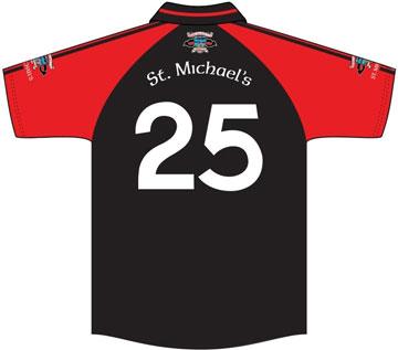 St. Michaels GFC Jersey Back